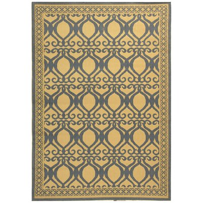 Safavieh Courtyard Natural & Olive Outdoor aREA Rug