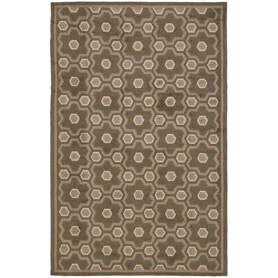Puzzle Molasses Brown Area Rug by Safavieh