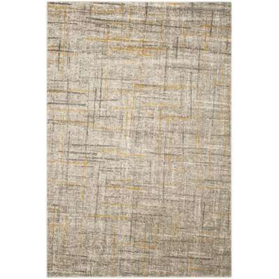 Porcello Grey / Dark Grey Area Rug by Safavieh