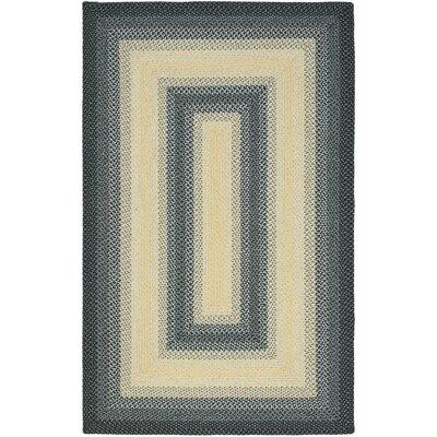 Safavieh Braided Black/Grey Area Rug