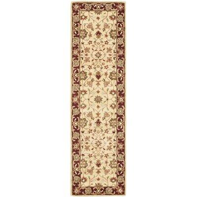Safavieh Heritage Ivory/Red Area Rug