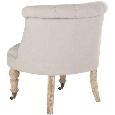 Safavieh Little Tufted Fabric Slipper Chair