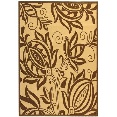 Safavieh Courtyard Natural / Brown Outdoor Area Rug