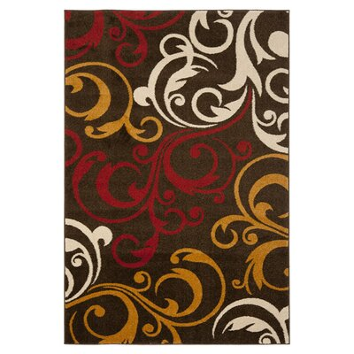 Newport Brown/Gold Area Rug by Safavieh