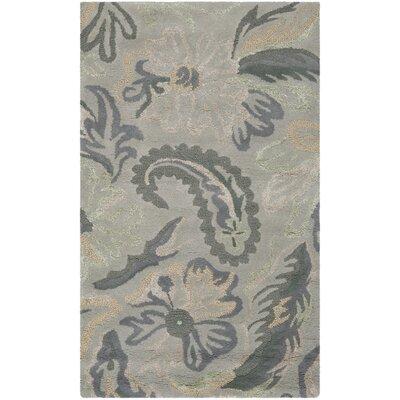 Jardin Light Grey / Multi Floral Rug by Safavieh