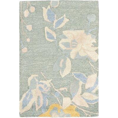 Jardin Silver / Blue Floral Rug by Safavieh