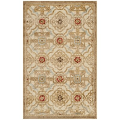 Martha Stewart Imperial Palace Taupe/Cream Area Rug by Safavieh