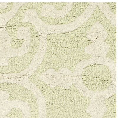 Safavieh Cambridge Light Green Ivory Area Rug Amp Reviews