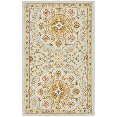 Chelsea Teal / Green Area Rug by Safavieh