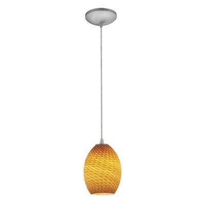 Brandy FireBird 1 Light Pendant by Access Lighting