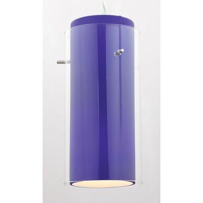 "Access Lighting 4.5"" G'nG Glass Cylinder Pendant Shade"