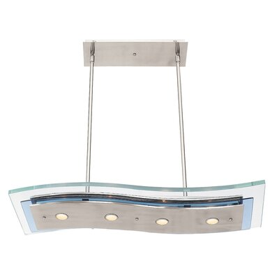 Access Lighting Aquarius 4 Light Kitchen Island Pendant