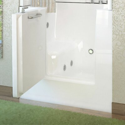"Mesa 40"" x 31"" Whirlpool Jetted Bathtub Product Photo"