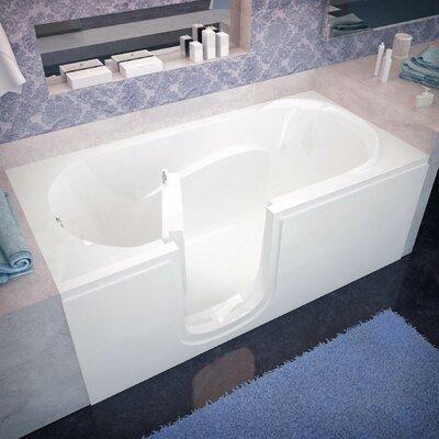 "Ashton 60"" x 30"" Whirlpool Jetted Bathtub Product Photo"