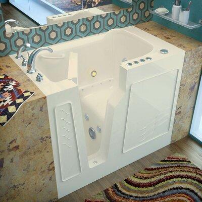 """Prairie 46"""" x 26"""" Whirlpool & Air Jetted Bathtub Product Photo"""