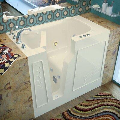 "Prairie 46"" x 26"" Whirlpool Jetted Bathtub Product Photo"