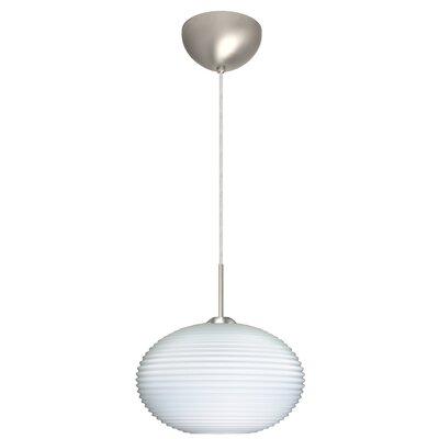 Pape 1 Light Globe Pendant by Besa Lighting
