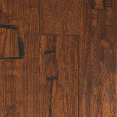 "Mohawk Flooring Zanzibar 5"" Engineered Elm Hardwood Flooring in Antique Chestnut"