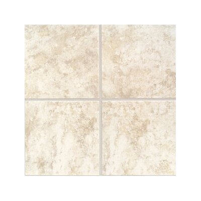 "Mohawk Flooring Ristano 6"" x 6"" Ceramic Field Tile in Bianco"