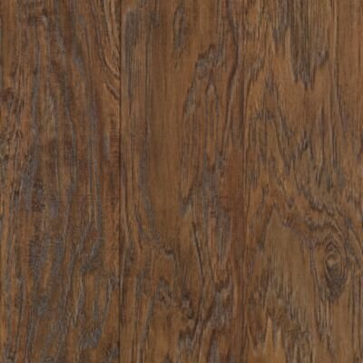 """Mohawk Flooring Barrington 5"""" x 47"""" x 8mm Hickory Laminate in Rustic Suede Hickory"""