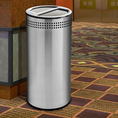 Commercial Zone Precision Series 20-Gal Multi Compartment Recycling Bin