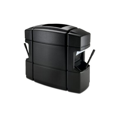 Commercial Zone Islander Series 35-Gal Double Sided Island Convenience Center