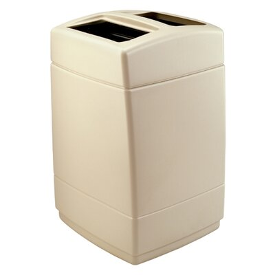 Commercial Zone PolyTec 55-Gal Square Waste Container
