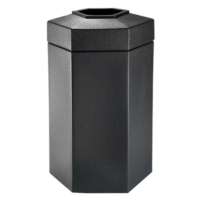 Commercial Zone PolyTec 50-Gal Hex Waste Container