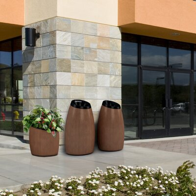 Commercial Zone Garden Series 15-Gal Seed Waste Container