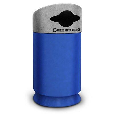 Commercial Zone Galaxy 40-Gal Industrial Recycling Bin