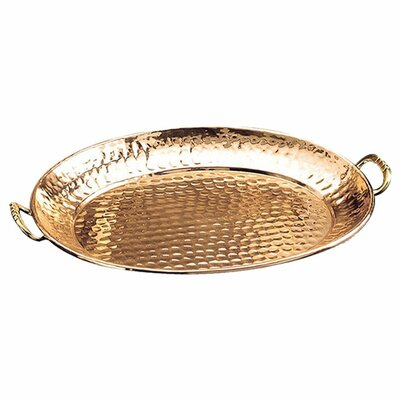 Old Dutch International Décor Oval Serving Tray