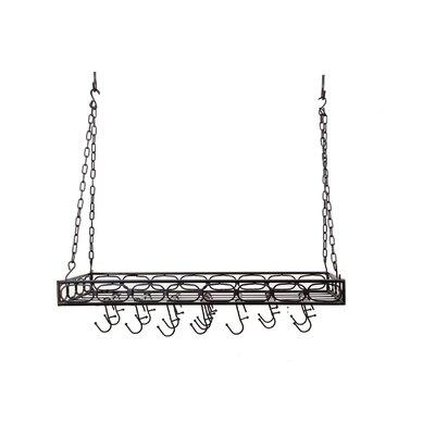 Rectangular Hanging Pot Rack by Old Dutch