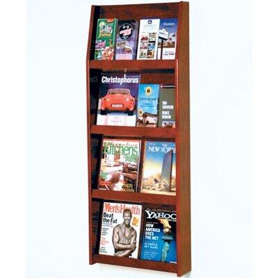 Wooden Mallet 8 Magazine / 16 Brochure Wall Display