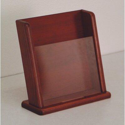 Wooden Mallet Countertop 1 Pocket Display