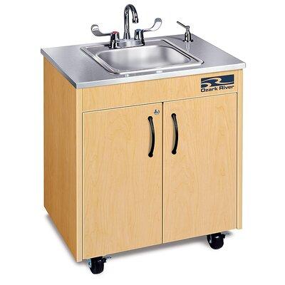 Ozark River Portable Sinks Ozark River Portable Sinks Silver Lil' Premier 1