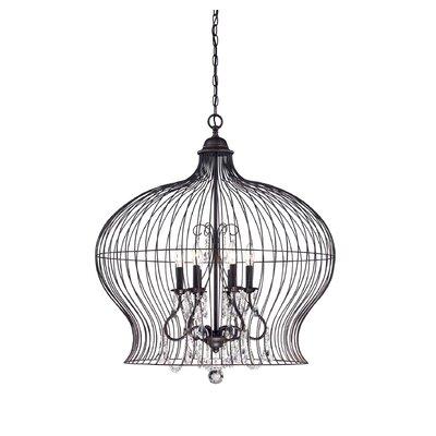 Savoy House Birdcage 6 Light Foyer Pendant