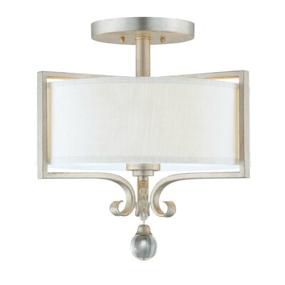 Rosendal 2 Light Semi Flush Mount Product Photo