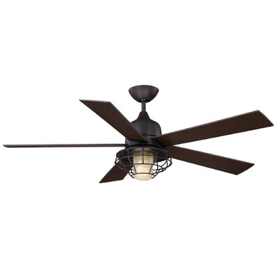 "Hyannis 52"" Damp Location Ceiling Fan Product Photo"