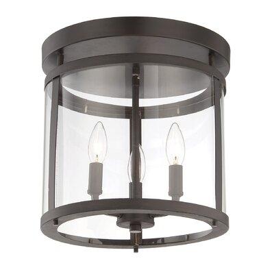 Penrose 3 Light Semi Flush Mount Product Photo
