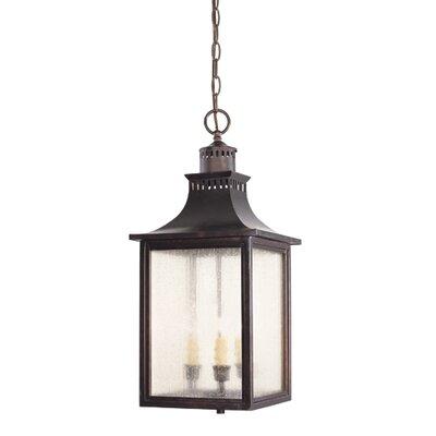 Savoy House Monte Grande 3 Light Outdoor Hanging Lantern