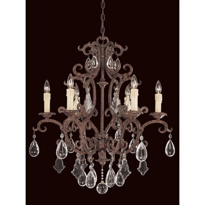 Savoy House Provenciale 6 Light Chandelier