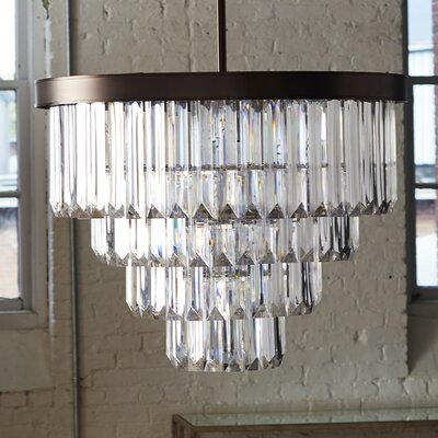 Tierney 6 Light Crystal Chandelier Product Photo