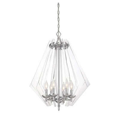 Newell 6 Light Pendant by Savoy House