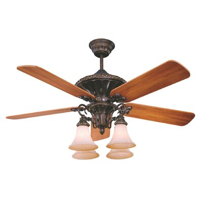 "Villamoura 52"" Almanor 5 Blade Ceiling Fan Product Photo"