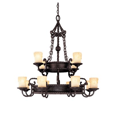 San Gallo 12 Light Chandelier by Savoy House