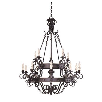 Savoy House Bourges 15 Light Chandelier