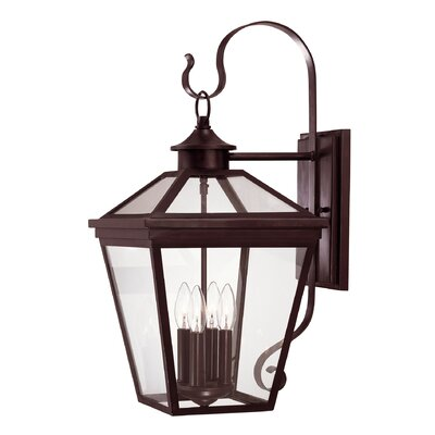Savoy House Ellijay 4 Light Wall Lantern