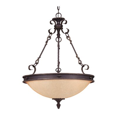 Savoy House Bourges 5 Light Inverted Pendant