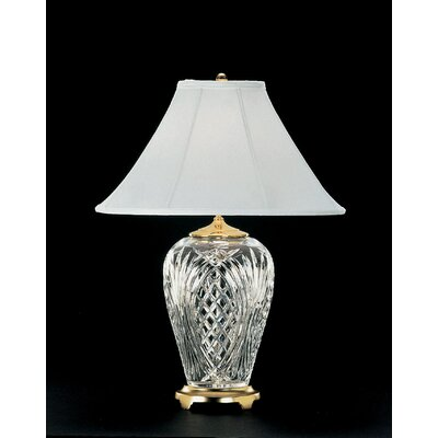 """Waterford Kilkenny 29"""" H Table Lamp with Bell Shade"""