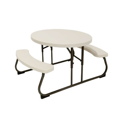 Kid's Oval Picnic Table by Lifetime
